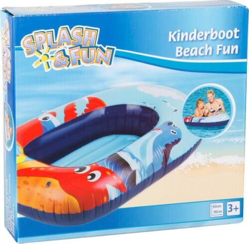 Kinderbadespaß Splash & Fun Reittier Delphin 150 x 80 cm