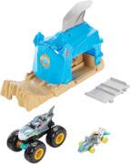 Mattel GKY01 Hot Wheels Monster Trucks Startrampe Spielset, sortiert