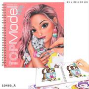 Create your TOPModel Kitty Malbuch