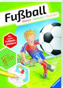 Ravensburger 41715 Fußball. Malen-Rätseln-Quizzen - F20