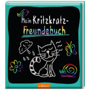 Ars Edition - Mein Kritzkratz-Freundebuch,  ab 5 Jahren